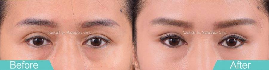หางหงส์ (Swan Eyes) คือการยกหางตาให้ดูเฉี่ยว
